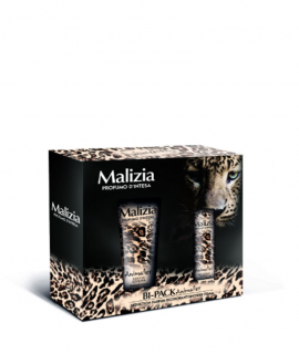 Bipack Malizia Donna Animalier deo 100 ml si dus gel 250 ml