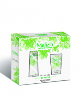 Bipack Malizia Donna Green Tea deo 150 ml si dus gel 250ml