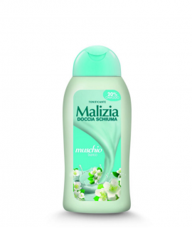 Dus gel Malizia Muschio Bianco 300 ml