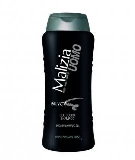 Dus gel sampon Malizia Uomo Silver 250 ml